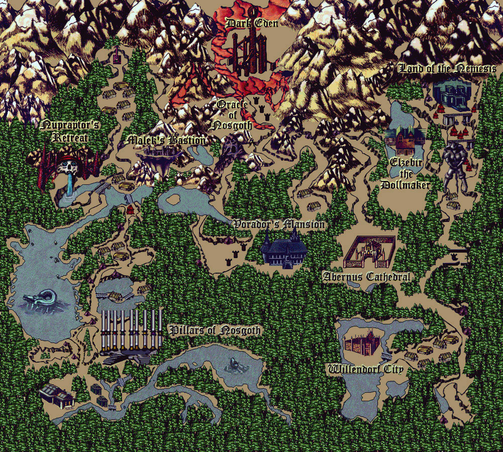 Mapa de Blood Omen