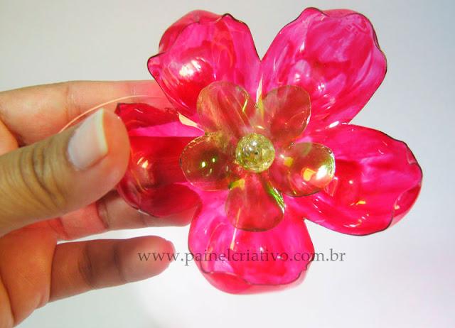 Flor de Garrafa Pet - PAP 07