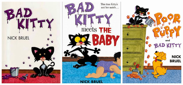 Nick Bruel Bad Kitty Series