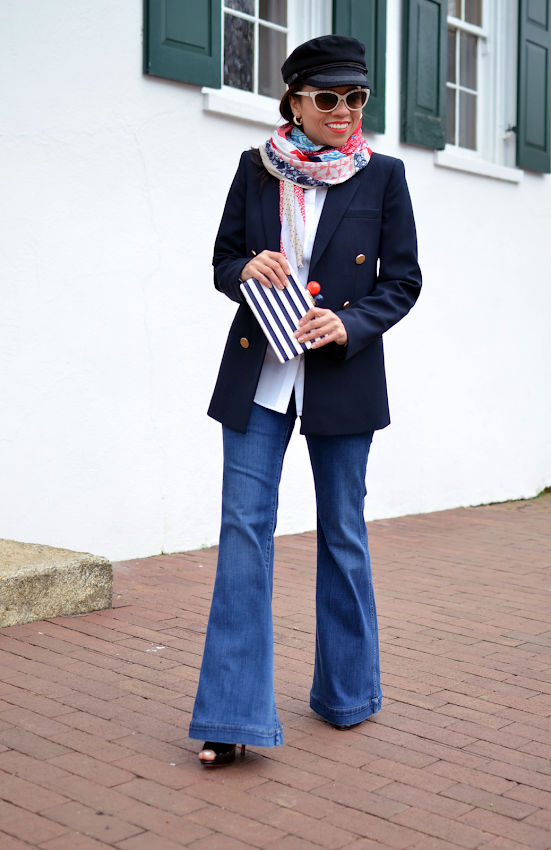How to wear nautical