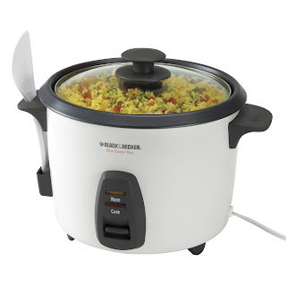 Black & Decker Rice Cooker e altre in giro per i negozi! Black+&+Decker+16-Cup+Rice+Cooker,+White,+RC436