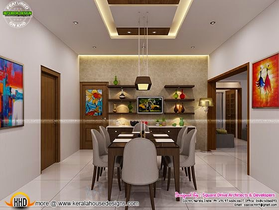Dining interior decor