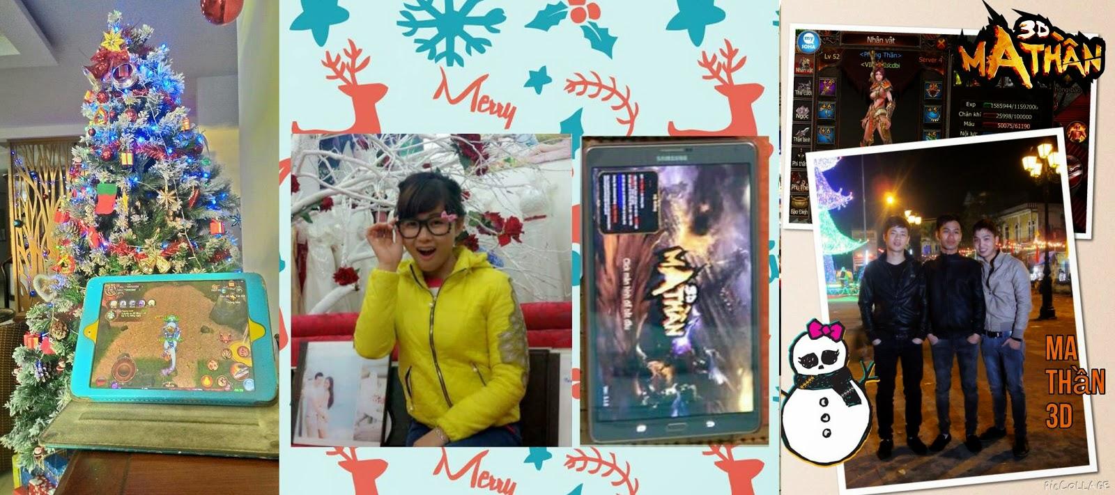 """Ma Thần 3D phát Gift Code """"khủng"""" tri ân game thủ mùa Giáng Sinh"""
