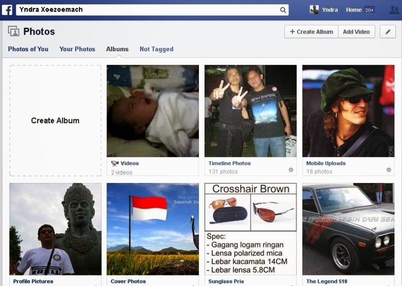 Download Album Foto dari Facebook