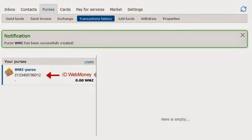 Cara Daftar Di WebMoney