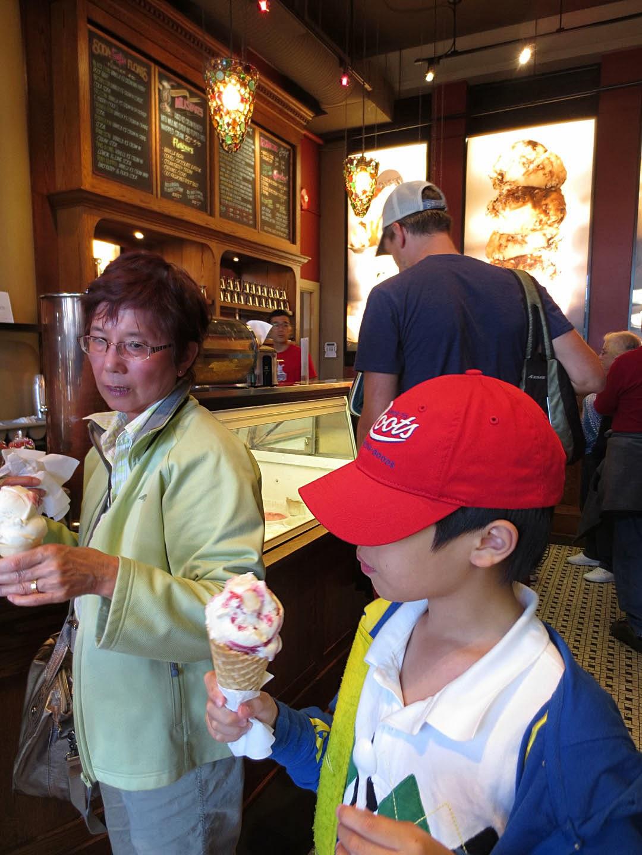 Soda Shoppe Victoria BC waffle cones