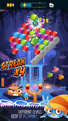 Game Angry Birds Stella POP Mod Apk Unlimited New Version