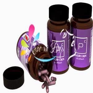 Sản phẩm tăng cân Purple Caps