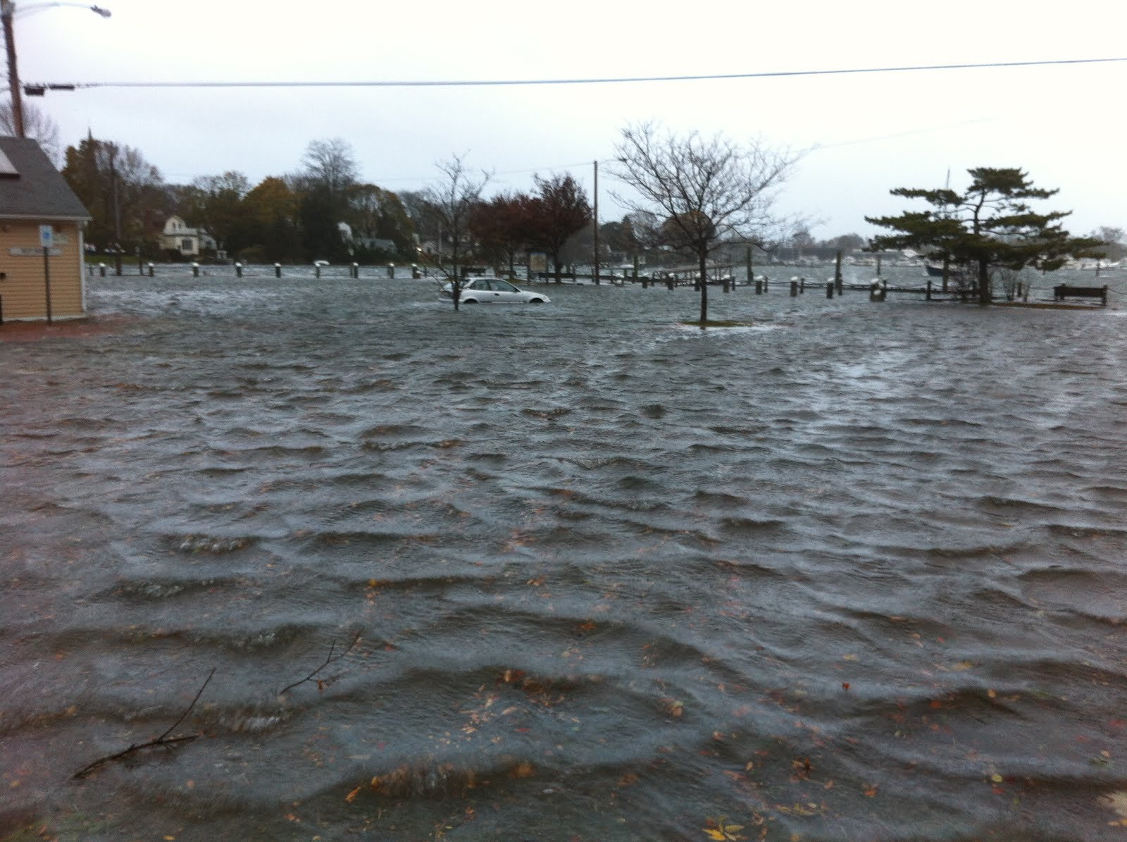 "Climate Change: A glimpse of the future as Rhode Islanders experience extreme ""King Tides"""