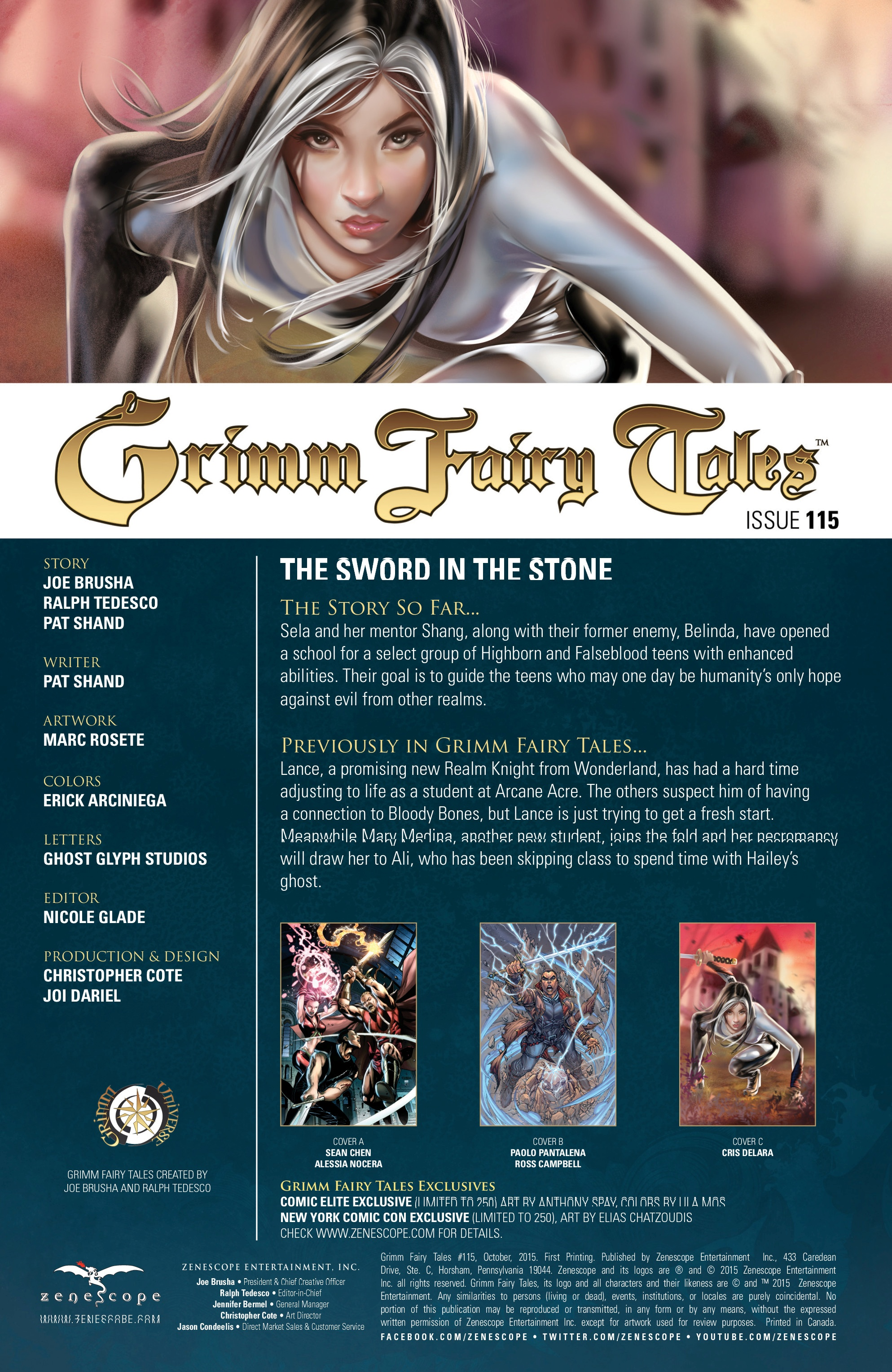 Grimm Fairy Tales (2005) Issue #115 #118 - English 2