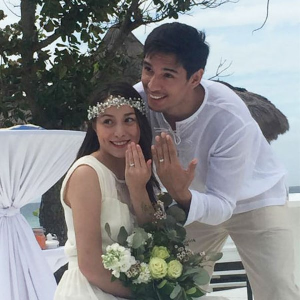 Cristine Reyes and live in partner Ali Khatibi tie the knot