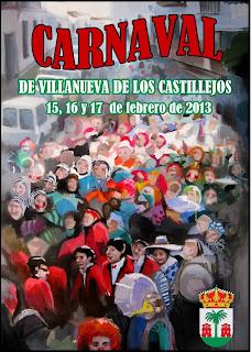 Carnaval 2013 - Villanueva de los Castillejos - Calle de colores - Marta Aguilar Tenor