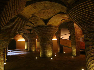 The stables of El Palau Güell