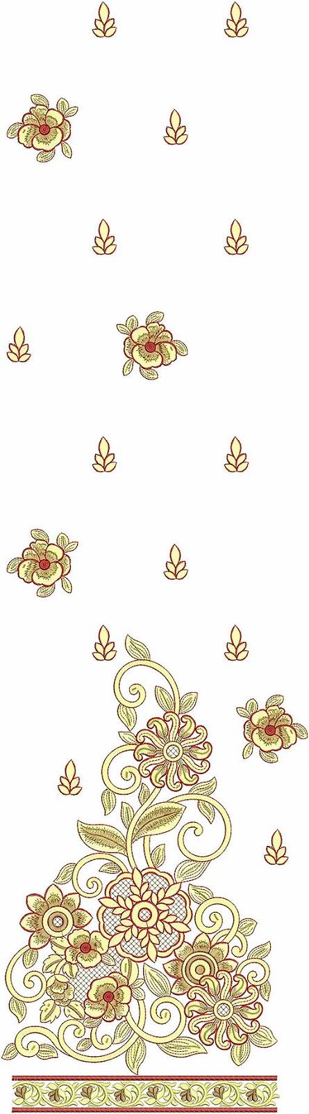 Embdesigntube blasting embroidery kurti collection of