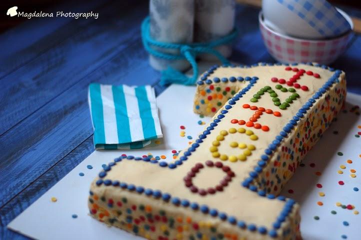 Baño Para Torta Infantil:TARTA CUMPLEAÑOS INFANTIL 1 AÑO – COBERTURA CHOCOLATE BLANCO