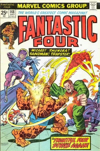 Fantastic Four #148, Frightful Four