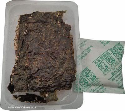 Selwyns crispy seaweed snack