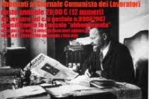 ABBONATI AL GIORNALE COMUNISTA DEI LAVORATORI