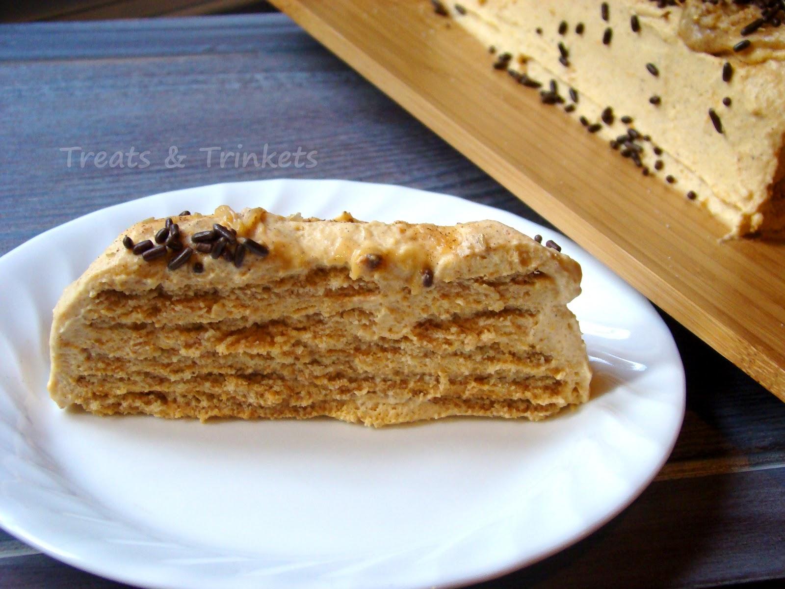 Treats & Trinkets: Pumpkin Pie Icebox Cake