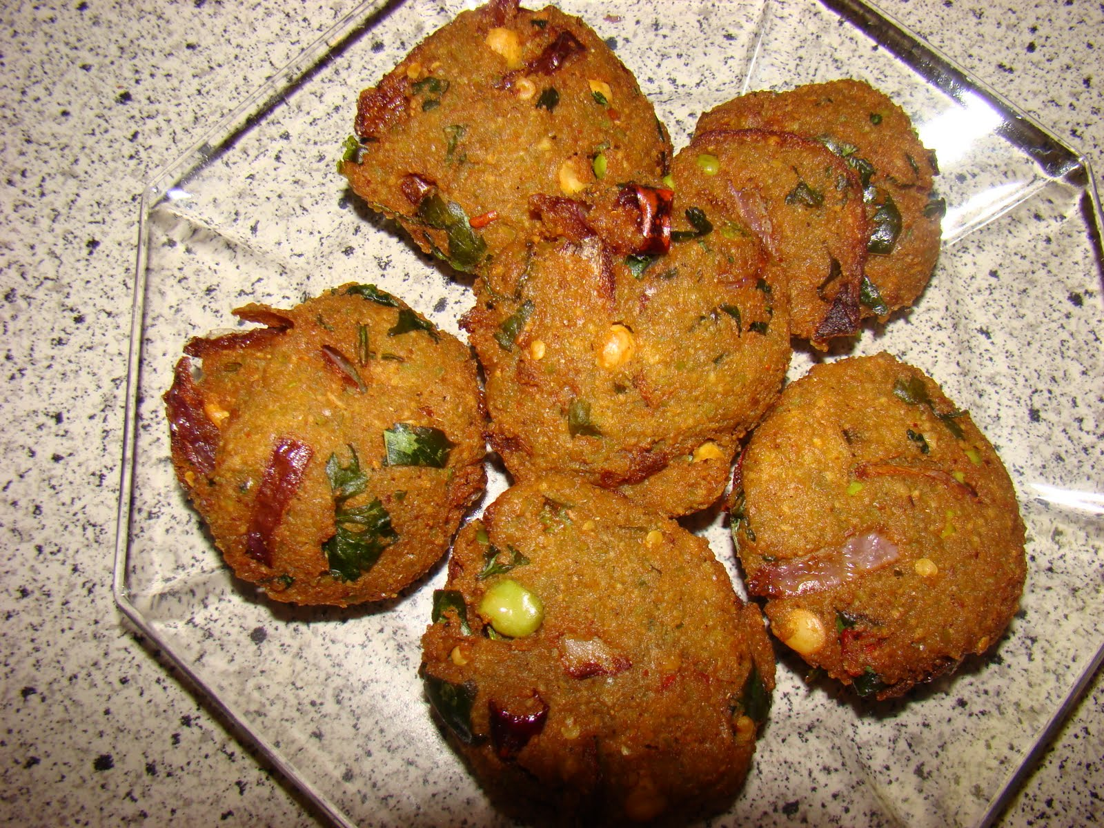 My Favorite Recipes Collection: South Indian Dal Vada