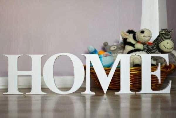 home dekoratif yazı