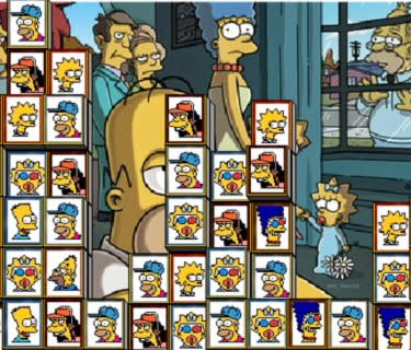 Simpsons Mahjong