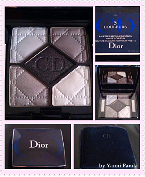 Five No Fail Palettes For: Wonderful Panda World: Review: Christian Dior 5 Couleurs