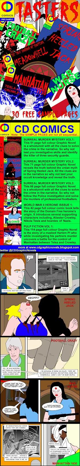 FREE 30 page Taster Comic Tasterstrip