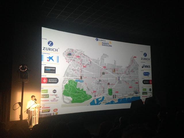 Recorrido Zurich Marató Barcelona 2016