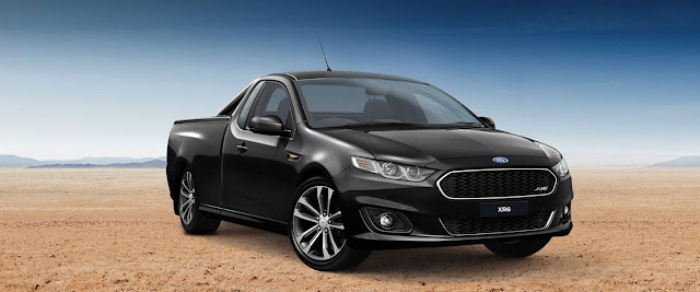 2016 Ford Falcon XR6 black front