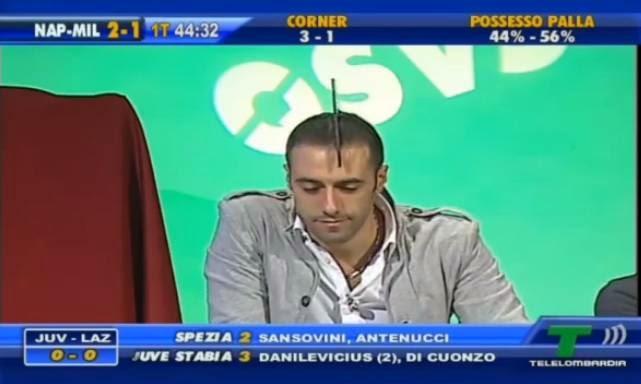 Cristiano Ruiu Napoli-Milan 2-2