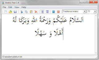 Download arabic pad software menulis text arab