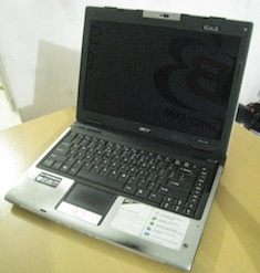 jual laptop bekas acer aspire 5580
