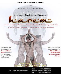 ERROS'HAREM'COLLECTION PREMIERS @ BAR UNO, QC on APRIL 29, 2011