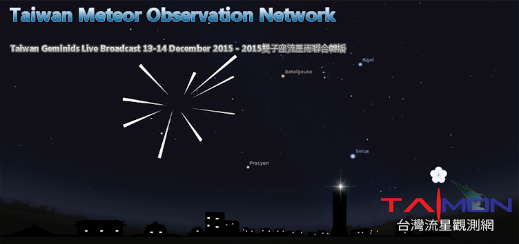 TAIwan Meteor Observation Network