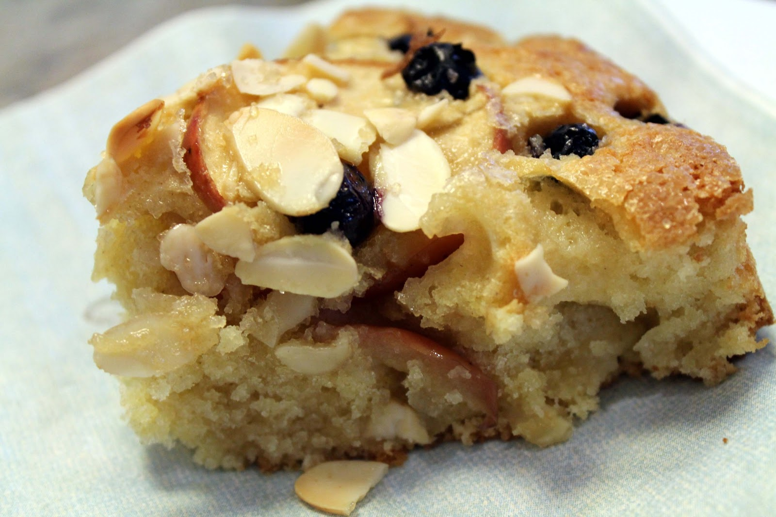 Simple Apple And Blueberry Cake Donna Hay