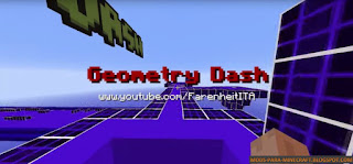 Geometry Dash Mapa ara Minecraft 1.8