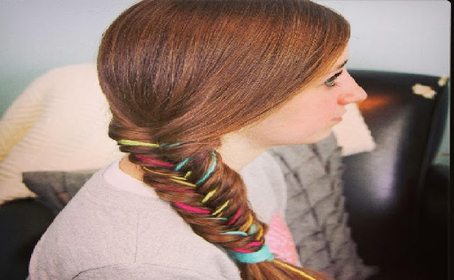 Crazy Braid Hair Style