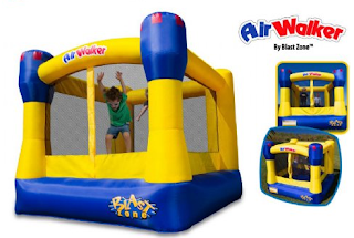 Enter to win an Air Walker bounce house from Blast Zone. Ends 6/26