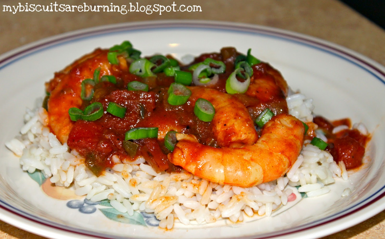 My Biscuits are Burning: Paula Deen's Shrimp Creole