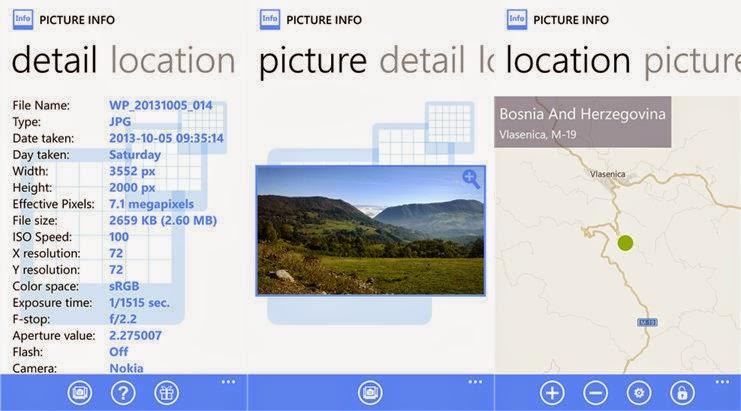 picture info windows phone wp techmix