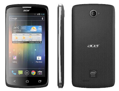 Acer Liquid C1, Cheap Android Ice Cream Sandwich, Phone, Processor Intel