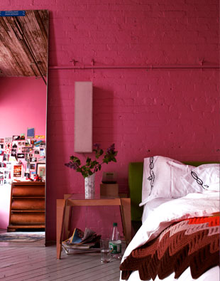 Cococozy color watch fuchsia and hot pink for Fuschia bedroom ideas
