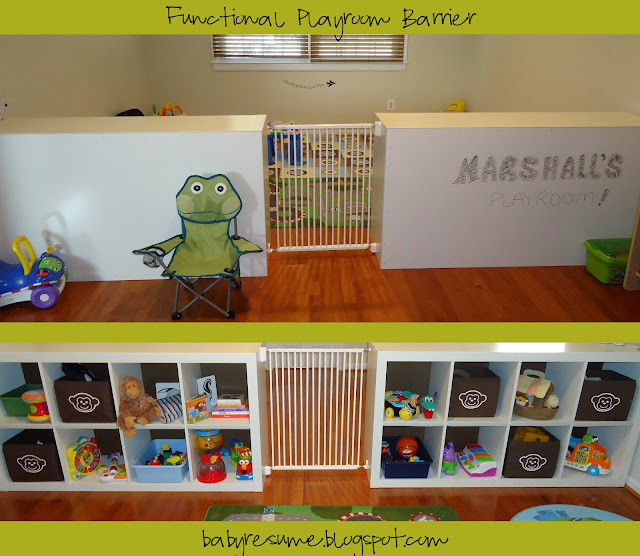 Functional Playroom Barrier