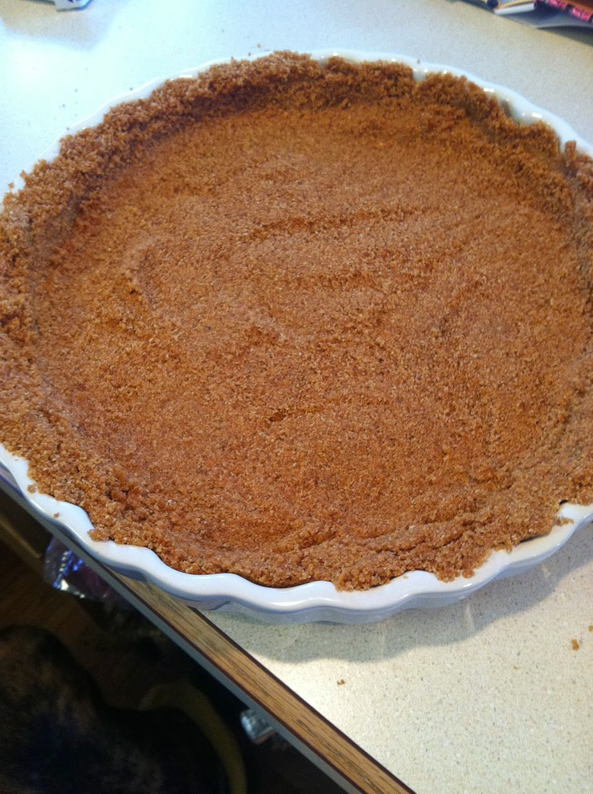 Marbled Pumpkin Gingersnap Tart Lace And Grace
