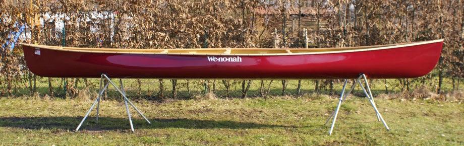 Wenonah Itasca Kevlar-Hartschaumskelett Test- und Vorführboot 2014
