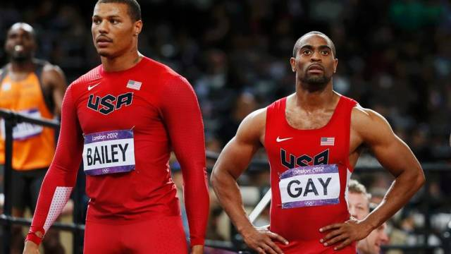 Tyson Gay terminou em quarto na final dos 100m rasos (Foto: Lucy Nicholson / REUTERS)