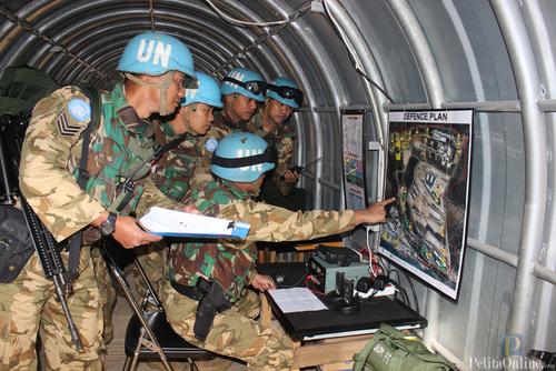 Eskalasi di Lebanon Meningkat, Prajurit TNI Masuk Bungker