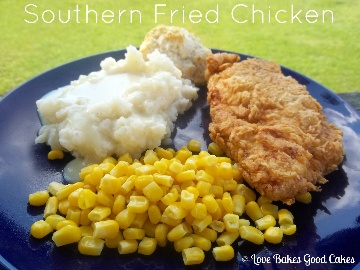 like good old fashion southern fried chicken like my mom used to ...