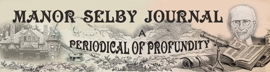 Manor Selby Journal